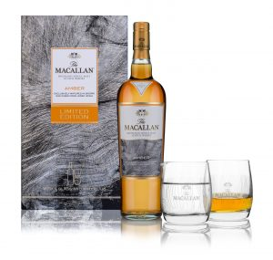 THE MACALLAN AMBER SINGLE MALT WHISKY