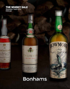 Bonhams The Whisky Sale, Edinburgh