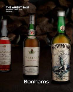 Bonhams The Whisky Sale, Edinburgh