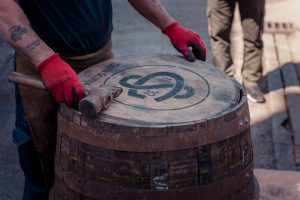 Glen Scotia Cooper at Work