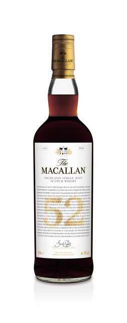 One of The Macallan 52 Year Old Bottles