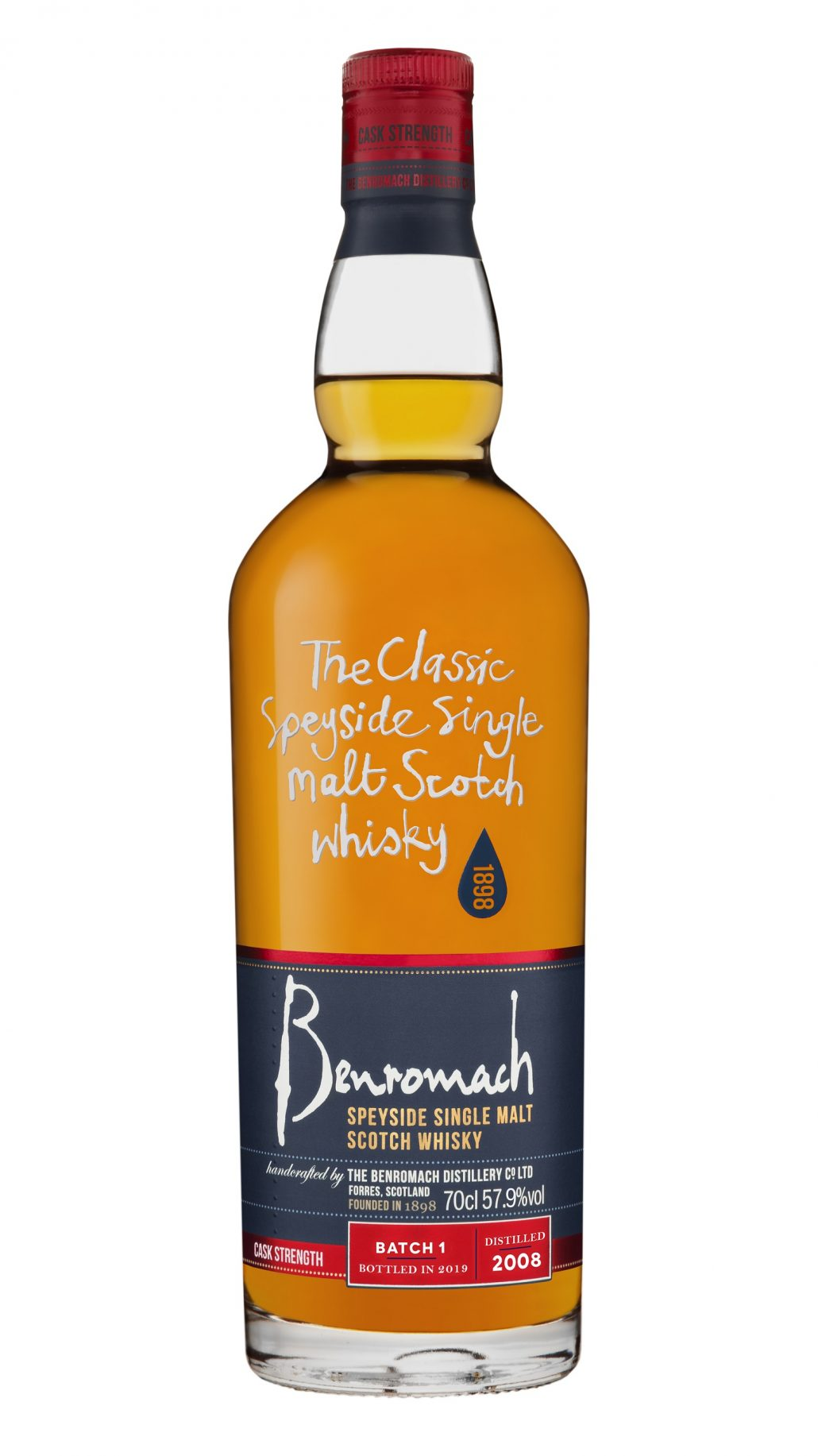 Benromach Cask Strength Vintage 2008 Batch 1