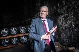 Michael Russell MSP at Glen Scotia Distillery