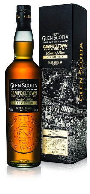 Glen Scotia Limited Edition Rum Cask Finish Single Malt