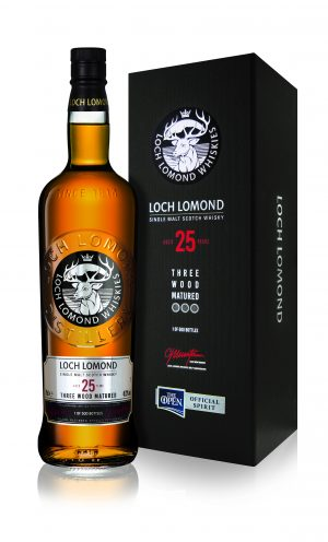 Loch Lomond Three Wood Matured 25 Year Old Single Malt