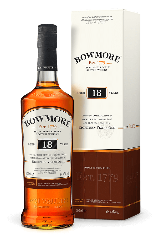 Bowmore 18 Year Old Gift for Father's Day