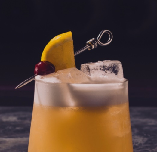 Auchentoshan Sour Cocktail